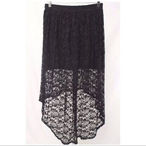 Forever 21- High Low Lace Skirt